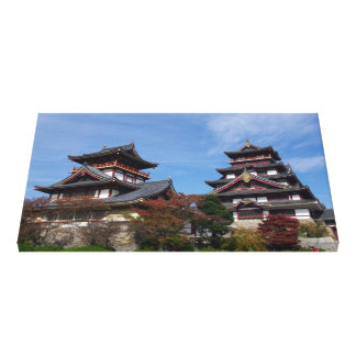 Momoyama Castle in Fushimi, Kyoto Canvas Print
