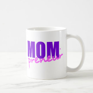 Mompreneur With Dot Hyphen, Two Colors Coffee Mug