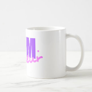 Mompreneur With Dot Hyphen, Two Colors, Two Fonts Coffee Mug