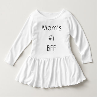 Mom's #1 BFF Best Friends Forever Dress