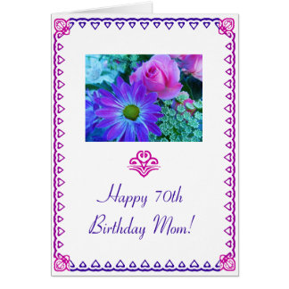 Mom's 70th Birthday Card