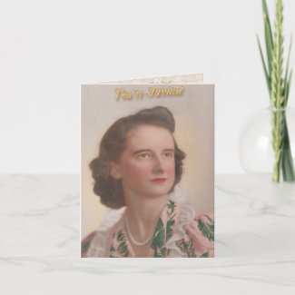 Mom's 90th Birthday Invitation card