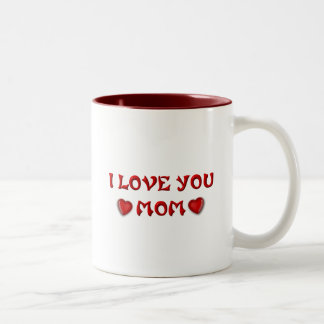 Moms and Mothers (7-9) Two-Tone Coffee Mug