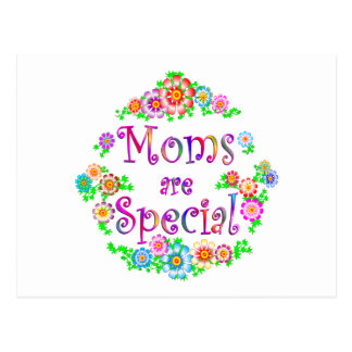 MOMS are Special Postcard