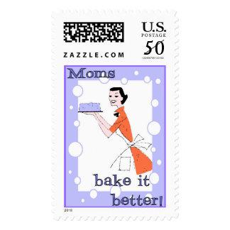 Moms Bake it Better! Postage