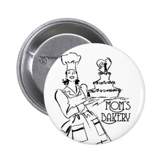 Mom's Bakery Buttons