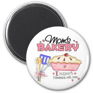 Mom's Bakery Magnet