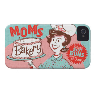 Mom's Bakery Retro Blackberry Case