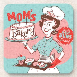 Mom's Bakery Retro Coasters Set/6