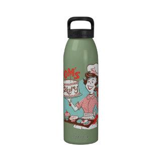 Mom's Bakery Retro Water Bottle