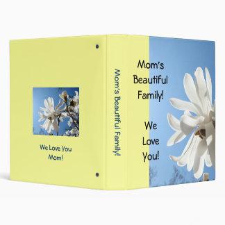 Mom's Beautiful Family photo binder We Love You!