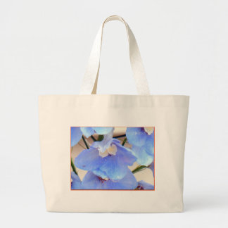 Mom's Blue Flowers tote bag