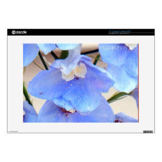 Mom's Blur Flowers laptop skin