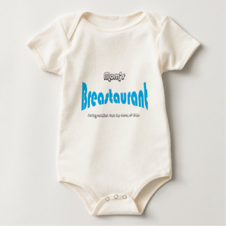 Mom's Breastaurant Baby Bodysuit