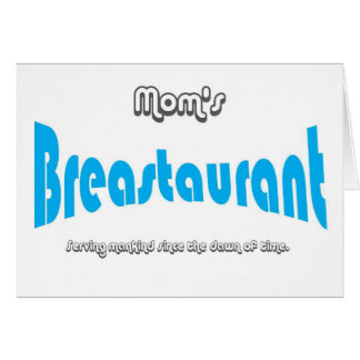 Mom's Breastaurant Card