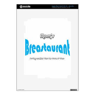 Mom's Breastaurant iPad 3 Decals