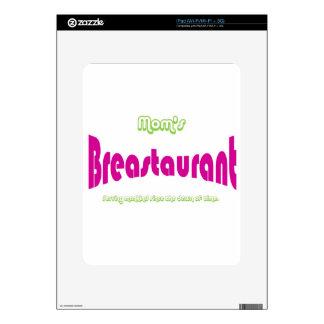 Mom's Breastaurant iPad Decals