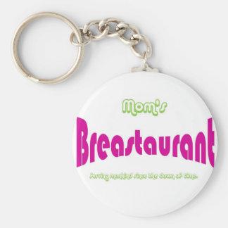 Mom's Breastaurant Key Chain