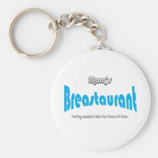 Mom's Breastaurant Keychains