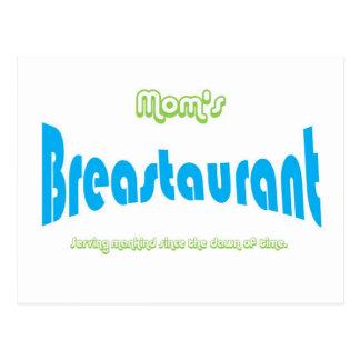 Mom's Breastaurant Post Cards