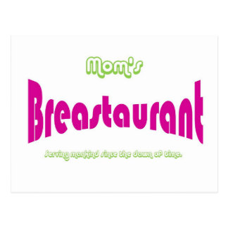Mom's Breastaurant Postcard