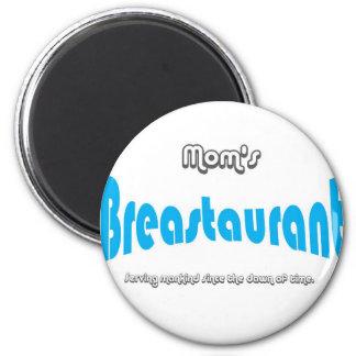 Mom's Breastaurant Refrigerator Magnets