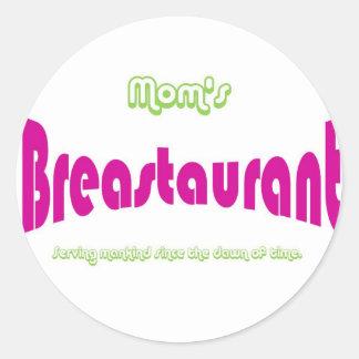 Mom's Breastaurant Sticker
