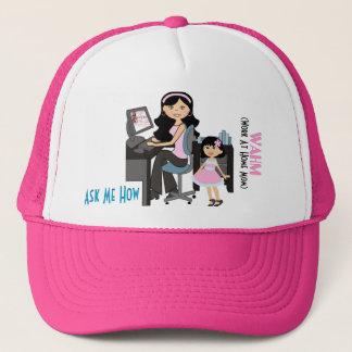 Mom's Business Cat Trucker Hat