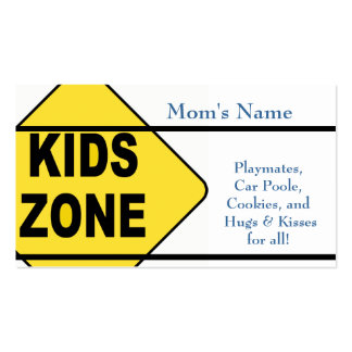 Mom's Calling Card Business Card
