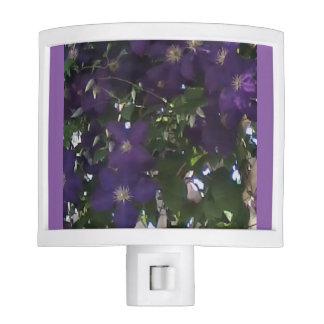 Mom's Clematis Flowering Vines Night Light