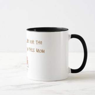 Mom's Coffee Required  Mug