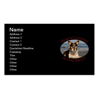 Mom's Cooking is the Best Double-Sided Standard Business Cards (Pack Of 100)