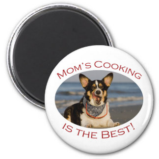 Mom's Cooking is the Best Magnet