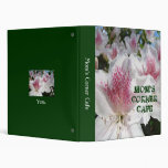 Mom's Corner Cafe binder Popular recipe books