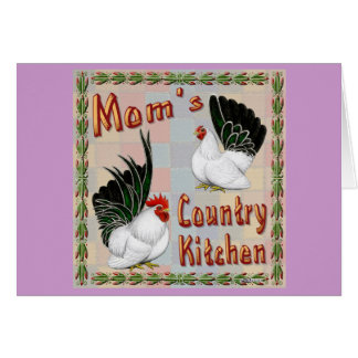 Mom's Country Kitchen Card