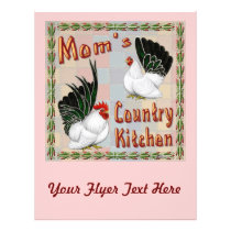 Mom's Country Kitchen Flyer