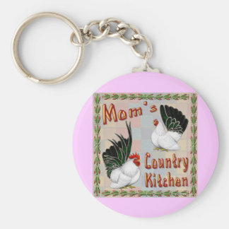 Mom's Country Kitchen Key Chains