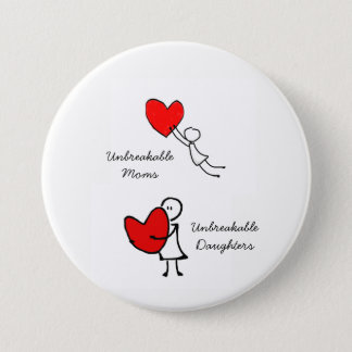 Moms & Daughters Pinback Button