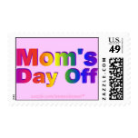 Mom's Day Off Rainbow Postage Stamps