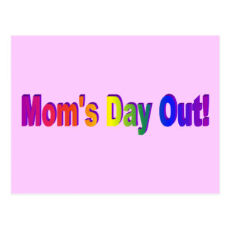Moms Day Out Postcard