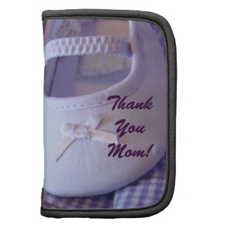 Mom's Day Planner Baby Shoes Purple New Mom gifts