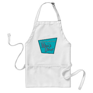 Moms Diner: Breastfeeding Adult Apron