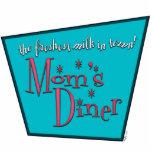 Mom's Diner: Breastfeeding Photo Cutout