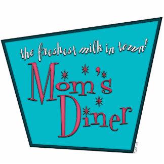 Mom's Diner: Breastfeeding Photo Sculpture Keychain