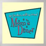 Mom's Diner: Breastfeeding Poster