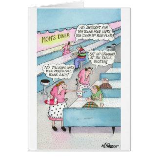 moms diner card