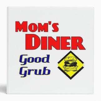 Mom's Diner Good Grub Retro Recipe Binder