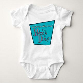 Mom's Diner Nursing Baby Baby Bodysuit