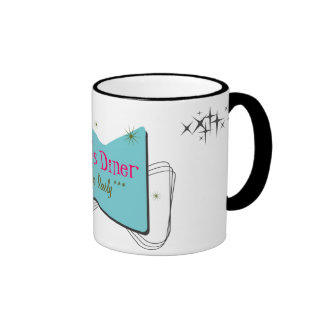 Mom's Diner...open daily... Coffee Mug