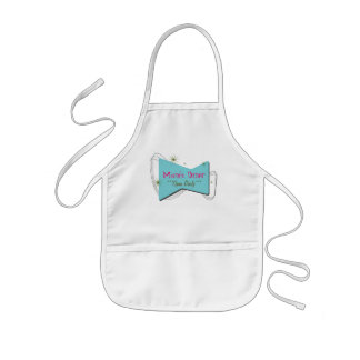Mom's Diner...Open Daily... Kids' Apron